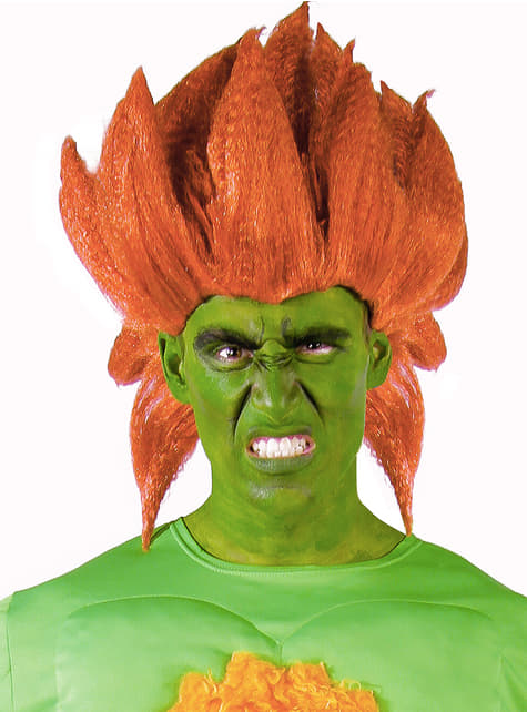Blanka Wig Street Fighter The Coolest Funidelia