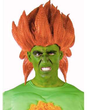 Peruca de Blanka - Street Fighter