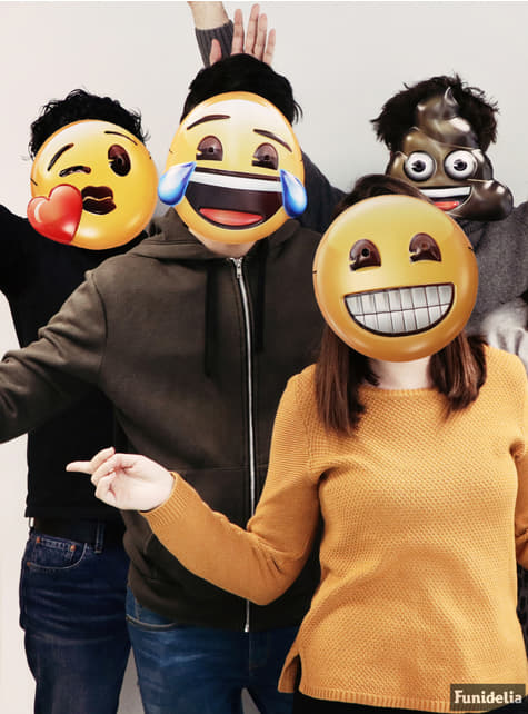 Set de 6 caretas Emoji