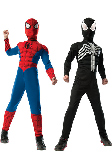 Disfraz de Ultimate Spiderman reversible para niño - hombre