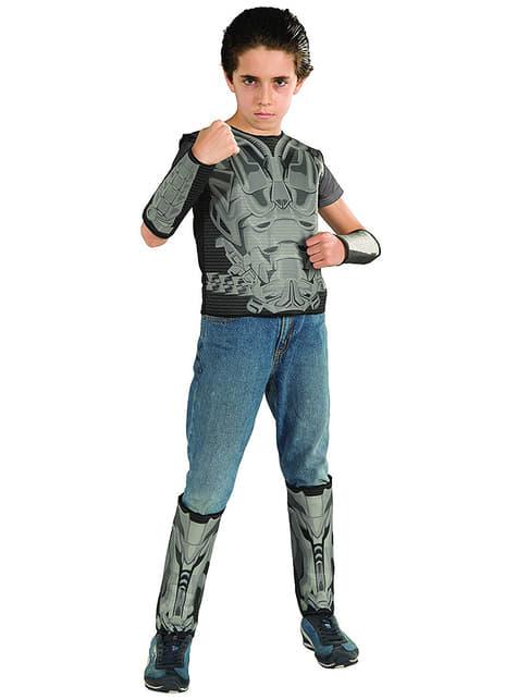 Boys Superman και γενικός Zod Man από κοστούμι χάλυβα