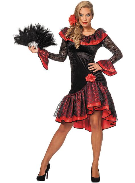 Déguisement espagnole traditionnelle femme