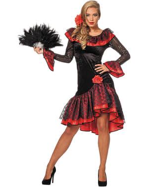 Tradisjonelt Spansk dame kostyme til dame