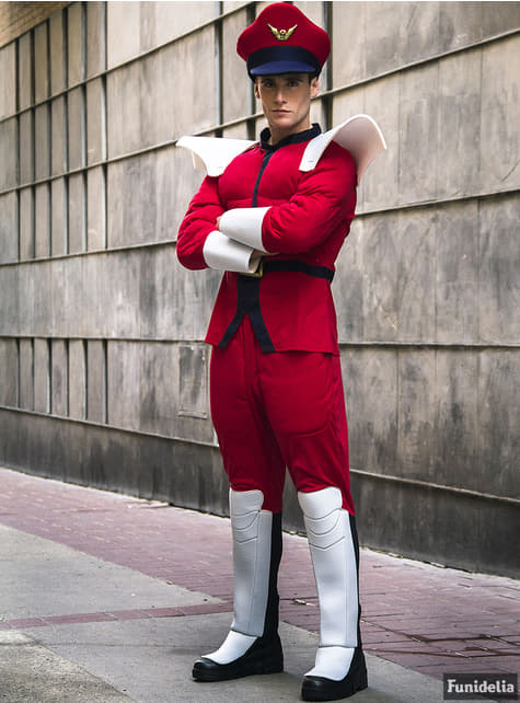 M Bison kostyme - Street Fighter