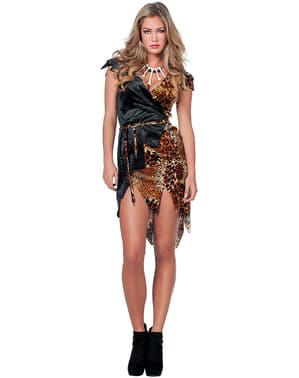 Costume uomo delle caverne per donna