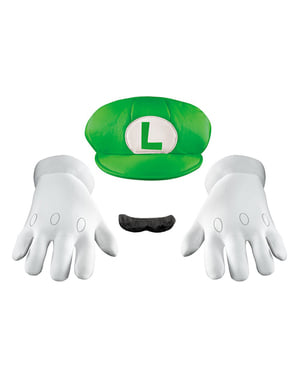 Deluxe Luigi Adult Accessory Kit