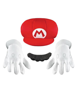 Kit accessori Super Mario deluxe da bambino