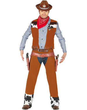 Rodeo Cowboy Costume for Adults