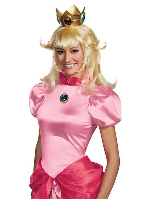 Peluca Princesa Peach para mujer