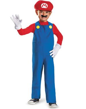 Deluxe Mini Mario Bros Maskeraddräkt för pojke