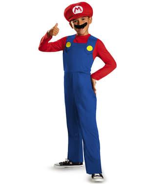 Fato de Mario Bros para menino