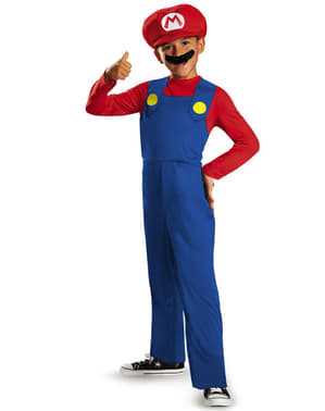 Mario Bros Costume for Boys