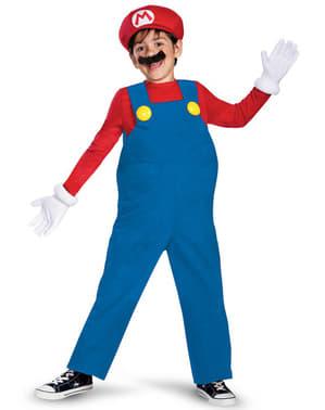 Deluxe Mario Bros Maskeraddräkt för pojke