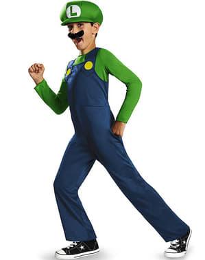Luigi Maskeraddräkt för pojke