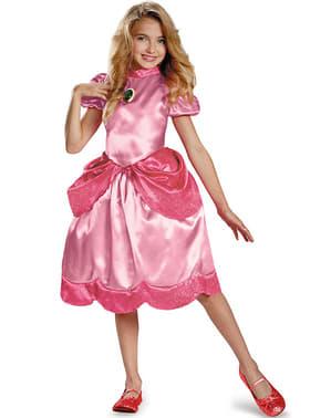 Prinsessan Peach Maskeraddräkt för flicka
