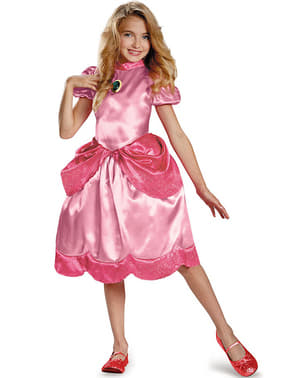 Princess Peach kostume til piger