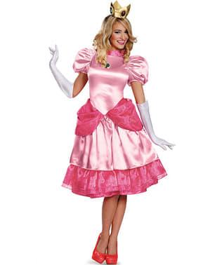 Disfraz de Princesa Peach prestige para mujer