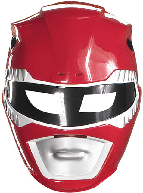 Máscara Power Rangers Mighty Morphin roja