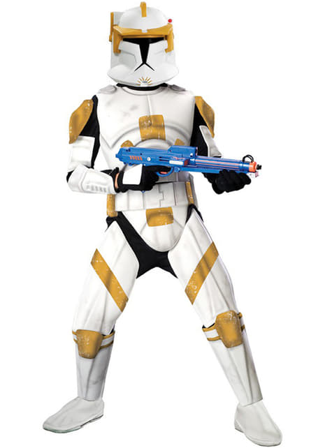 Deluxe kostým pre dospelých komandér Cody (Clone Trooper)