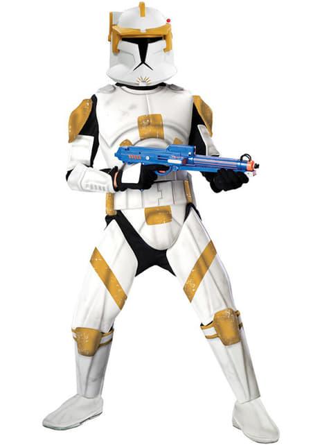Kostým pro dospělé kapitán Cody klonový voják deluxe