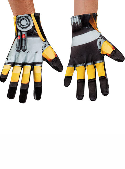 Transformers 4 Age of Extinction Bumblebee Adult Gloves