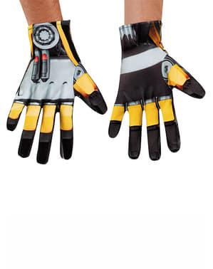 Bumblebee Handschuhe für Erwachsenen Transformers 4