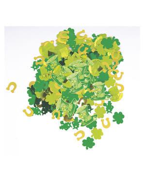 Konfetti till St Patrick's Day