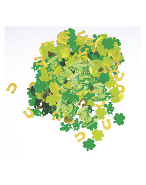 St Patrick's Day konfetti