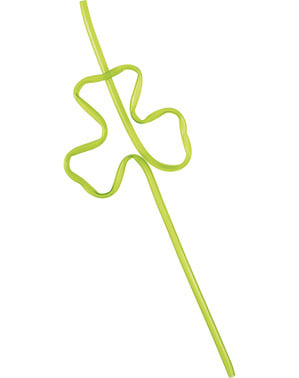 4 clover shaped straws