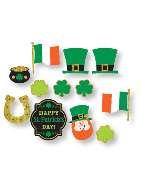 Set med 12 komplement till photocall St Patrick's Day Irland