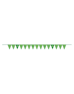 Grinalda de bandeirolas do Dia de São Patrício