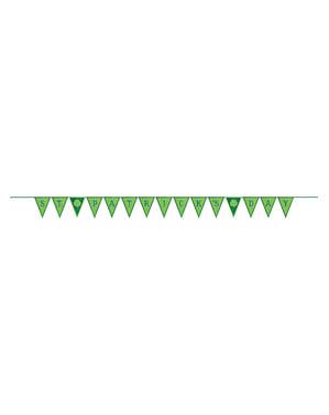 St Patrick's Day flagdug