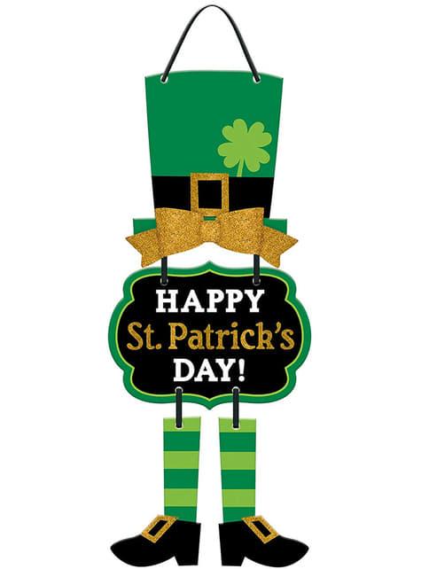 Decoración para colgar Happy St Patrick's Day