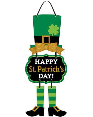 Happy St Patrick's Day hanging decoration