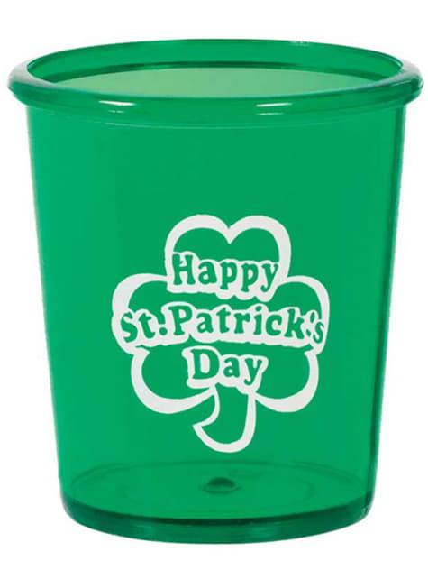 Happy St Patrick's Day hard plastic cup