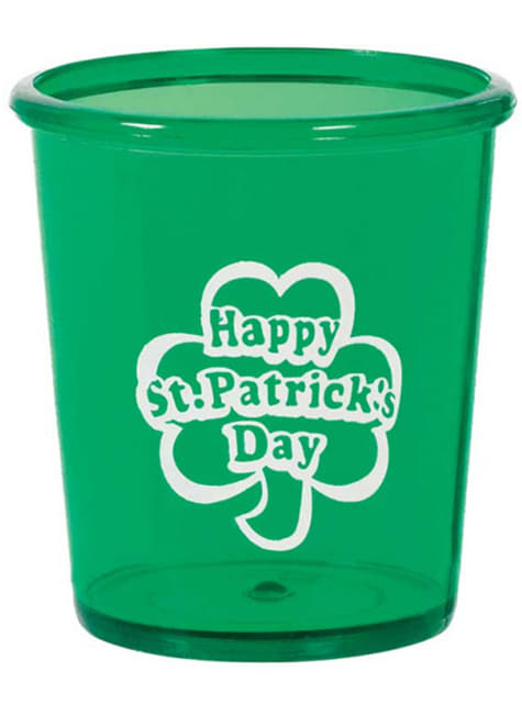 Vaso de plástico duro Happy St Patrick's Day
