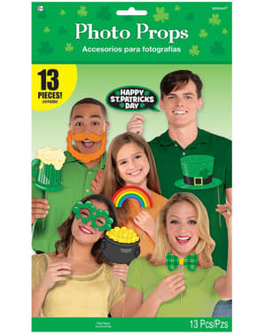 13 accesorios photocall Happy St Patrick's divertidos