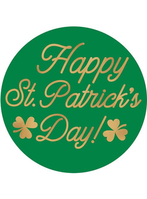 18 posavasos Happy St Patrick's Day