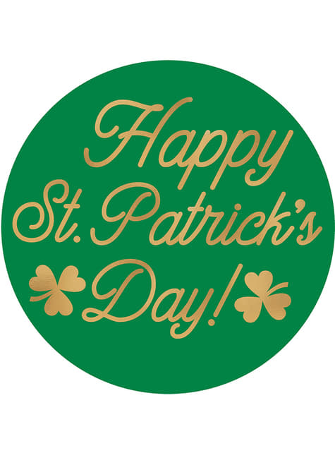 Set of 18 Happy St Patrick's Day coasters