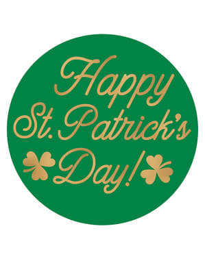 18 suporturi pentru pahar Happy St Patrick's Day