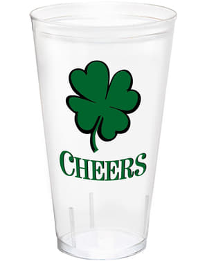 Mugg i hårdplast St Patrick's Day fyrklöver