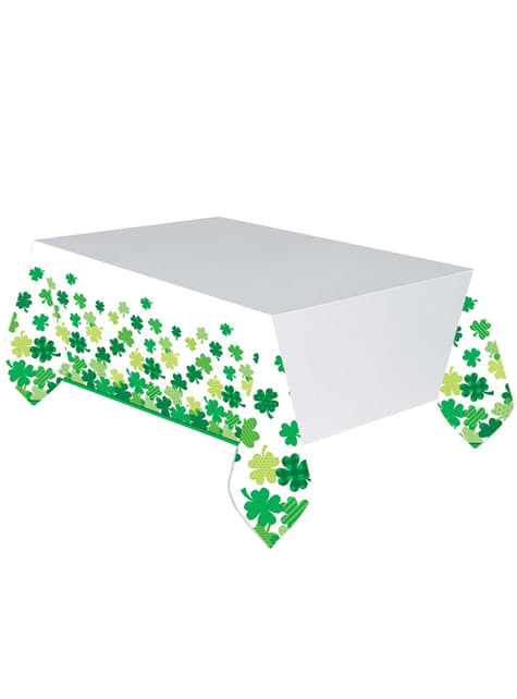 St Patrick's clover tablecloth