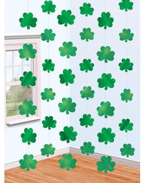 Rideau de trèfles Saint Patrick