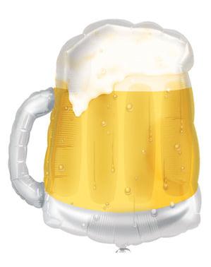 Balão de foil de caneca cerveja