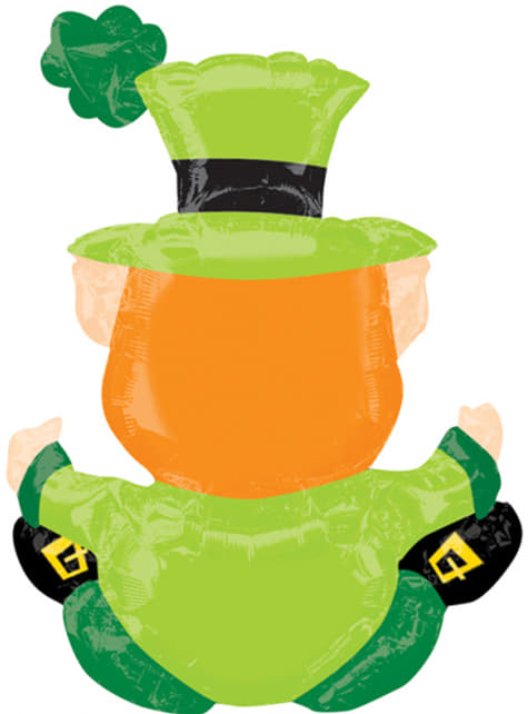 Globo de foil de Leprechaun - para tus fiestas