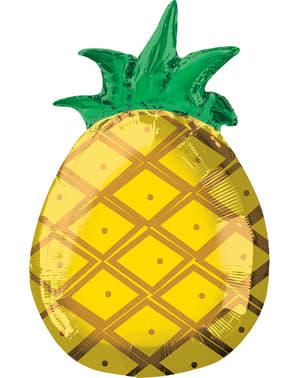 Ballon aluminium ananas