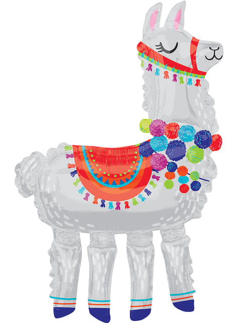 Llama foil balloon