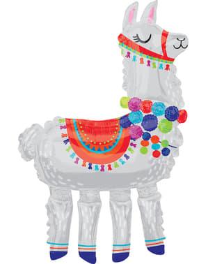 Foliový balonel lama