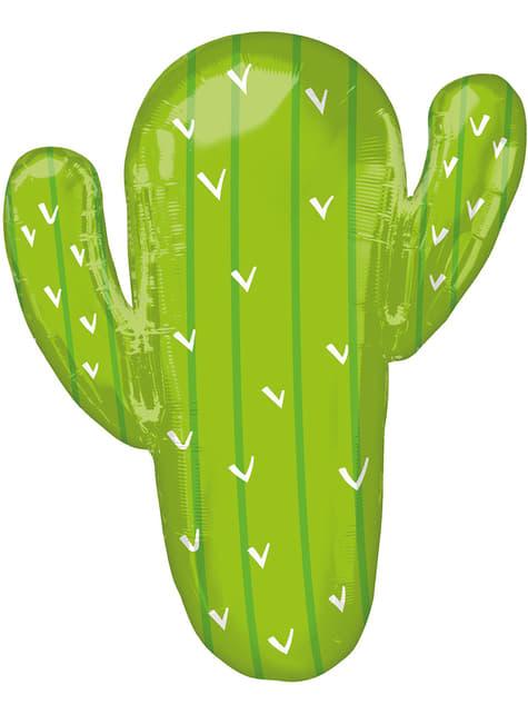 Globo de foil de cactus
