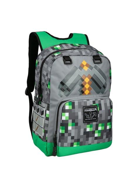 Mochila Minecraft Emerald Survivalist